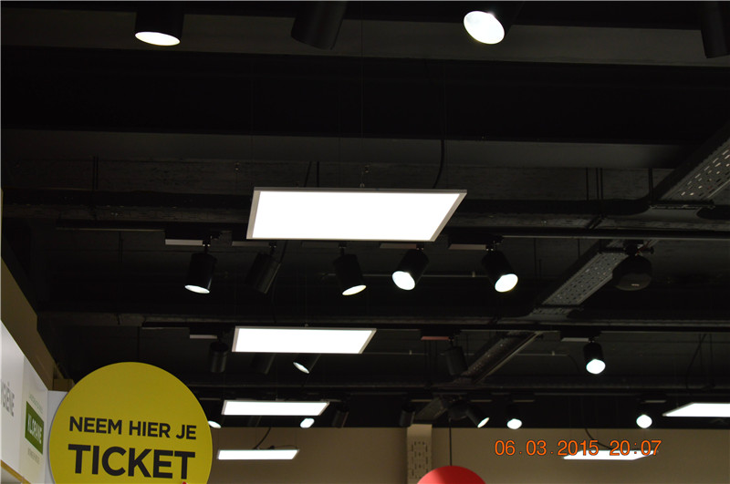 10. suspended led panel installation example