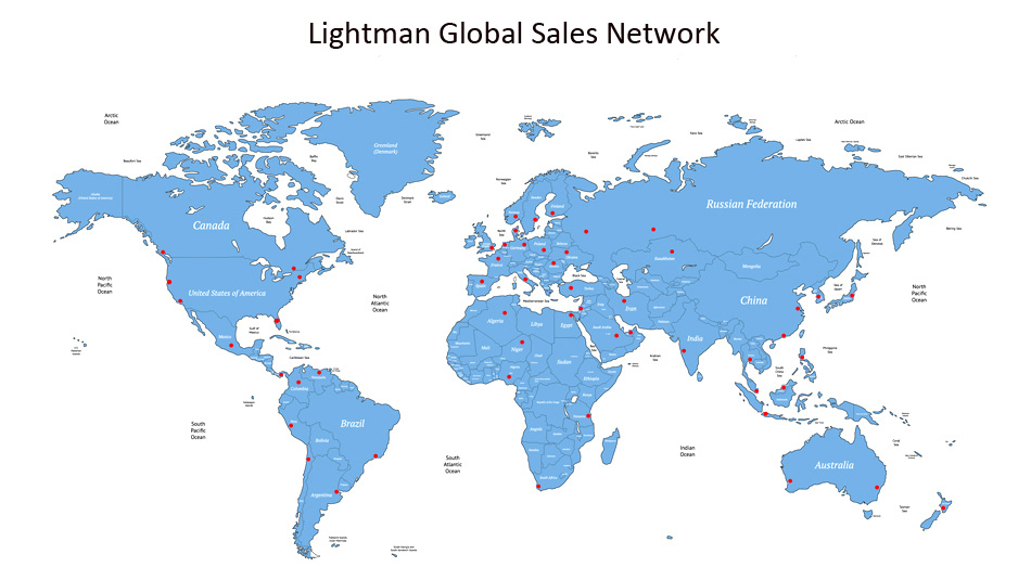 Lightman Global Sales Network